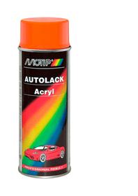 Vernice acrilica arancione 400 ml Vernice spray MOTIP 620713800000 Tipo di colore 42800 N. figura 1