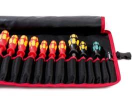 Parat BASIC Roll-Up-Case, 20 Einsteckfächer Werkzeugbehälter 601097800000 Bild Nr. 1