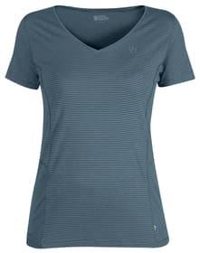 Abisko Cool Damen-Kurzarmshirt Fjällräven 461015600247 Grösse XS Farbe denim Bild-Nr. 1