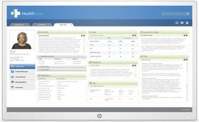 Healthcare Edition HC271p ohne Standfuss Monitor HP 785300152686 Bild Nr. 1