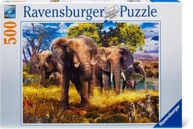 Famiglia di elefanti Puzzle Ravensburger 748989200000 N. figura 1