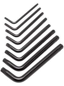 Set di chiavi a brugola Classic 8 pz. Chiavi maschio piegate Lux 601074900000 N. figura 1