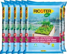 Terreau pour balcon et jardin sureleve, 10 x 30 l Terreau spécial Ricoter 658115900000 Photo no. 1