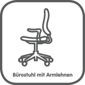 Bürostuhl mit Armlehnen