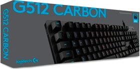 G512 CARBON GX BROWN Tactile Keyboard Keyboard Logitech G 789300700000 Photo no. 1