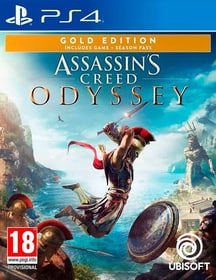 PS4 - Assassin's Creed Odyssey - Gold Edition Box 785300137726 Photo no. 1