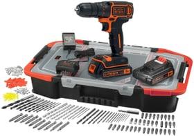 18 Li, 2 batterie e 160 pz. accessori Trapano avvitatore Black&Decker 616128900000 N. figura 1