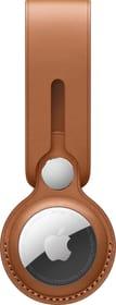 AirTag Leather Loop Saddle Brown Pendente Apple 785300159629 N. figura 1