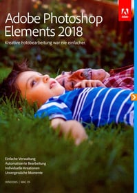 PC/Mac - Photoshop Elements 2018 (F) Fisico (Box) Adobe 785300130257 N. figura 1