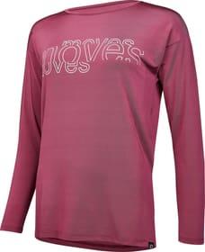 Langarmshirt Fitnessshirt Perform 468061403617 Grösse 36 Farbe himbeer Bild-Nr. 1