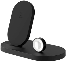 Boost Up Wireless Charging Dock for iPhone + Apple Watch (7,5W) - Noir Chargeur Belkin 785300150019 Photo no. 1