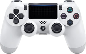 PS4 Wireless DualShock Controller v2 white Controller Sony 798072100000 Bild Nr. 1