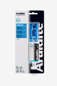 Colle à deux composants standard seringue Colle à 2 composants Araldit 663060700000 Photo no. 1