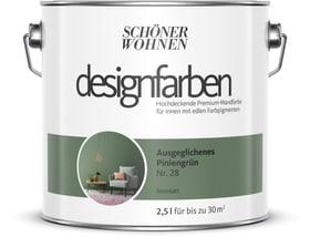 Designfarbe Piniengrün 2,5 l Wandfarbe Schöner Wohnen 660977200000 Inhalt 2.5 l Bild Nr. 1