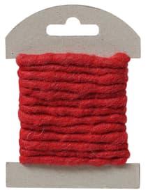 Corde de feutre, rouge, 2m
