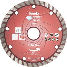 Dischi da taglio Red-Line DIAMANT, ø 125 mm kwb 610519100000 N. figura 1