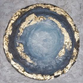 CIRCLE BLUE Bild handgemalt 433032700000 Bild Nr. 1