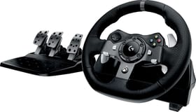logitech g g920 driving force racing wheel pc xbox. Black Bedroom Furniture Sets. Home Design Ideas