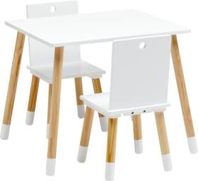 BEN Tavolo con sedie per bambini 404736900000 Colore Bianco N. figura 1