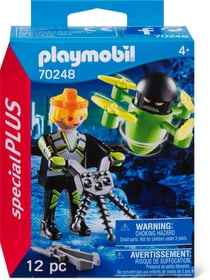 PLAYMOBIL 70248 Agente con drone 748029300000 N. figura 1