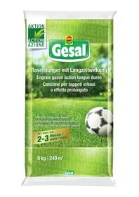 Gesal Concime per tappeti erbosi a effetto prolungato, 6 kg Concime per prati Compo Gesal 658243700000 N. figura 1