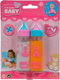 2 Magische Trinkfläschchen Saft und Milch Puppenzubehör Simba 744607700000 Bild Nr. 1
