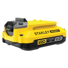V20 / 18 Li 2.0 Ah set chargeur Batterie de rechange et chargeur Stanley Fatmax 616242400000 Photo no. 1