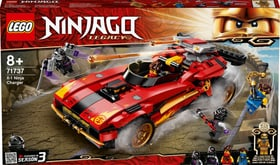 NINJAGO 71737 Super-bolide Ninja X-1 LEGO® 748758800000 N. figura 1