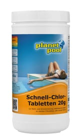 Schnell-Chlor-Tabletten 20g Planet Pool 647066300000 Bild Nr. 1
