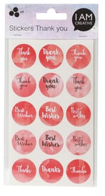 Stickers,Thank you I AM CREATIVE 666207600000 Bild Nr. 1