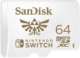 microSDXC Nintendo Switch 64Go Micro SD SanDisk 798266200000 Photo no. 1