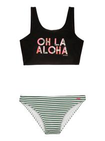 MINNA JR Bikini Bikini pour fille Protest 466843514020 Taille 140 Couleur noir Photo no. 1