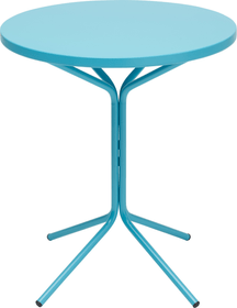 PIX Table ronde Schaffner 408010200044 Couleur Turquoise Dimensions H: 72.0 cm Photo no. 1