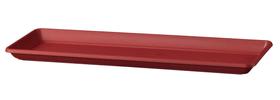 Soucoupe Miramare Deroma 658709300000 Couleur Rouge Taille L: 38.0 cm x L: 18.0 cm x H: 3.2 cm Photo no. 1