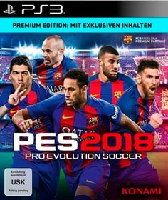 PS3 - PES 2018 - Pro Evolution Soccer 2018 Premium Ed.