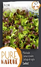 Pflücksalat 'Confetti' 5g Gemüsesamen Do it + Garden 287111400000 Bild Nr. 1