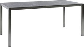 LOCARNO, 140 cm, struttura acciaio inox, piano Ceramica Tavolo 753193214072 Taglio L: 140.0 cm x L: 80.0 cm x A: 74.0 cm Colore Wild Grey N. figura 1