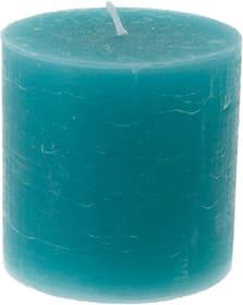 Zylinderkerze Rustico Kerze Balthasar 656209500006 Farbe Türkis Grösse ø: 10.0 cm x H: 10.0 cm Bild Nr. 1