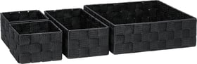 NOAM Korb-Set 442086101220 Farbe Schwarz Grösse H: 8.5 cm Bild Nr. 1