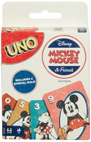 UNO Mickey Mouse Mattel Games 748991300000 Photo no. 1