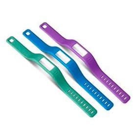 Vivofit 3 Bracelets, Large, turquoise/lila/bleu