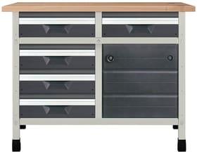 Werkbank No. 12 1130 x 650 x 860 mm 8071 Werkstatt-System Wolfcraft 601457800000 Bild Nr. 1