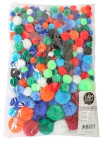 Pompons, 10 - 35 mm I AM CREATIVE 666217500000 N. figura 1