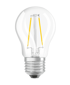 STAR CLASSIC P25 LED E27 2.5W blanc chaud Osram 421083500000 Photo no. 1