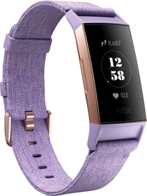 Charge 3 Lavender Woven Special Edition (NFC) Activity Tracker Fitbit 798452000000 Photo no. 1