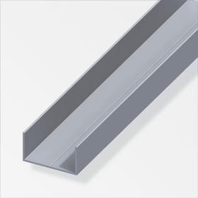 Rechteck-U 19,5 x 35,5 blank 1 m alfer 605007800000 Bild Nr. 1