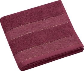 GLAMOUR Essuie-Mains 450883500336 Couleur Rouge foncé Dimensions L: 50.0 cm x H: 100.0 cm Photo no. 1