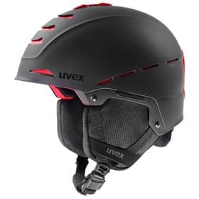 legend pro Casque de sports d'hiver Uvex 494999751820 Taille 52-55 Couleur noir Photo no. 1