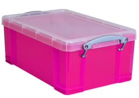 Boîtes de plastique 9L Boîte de rangement Really Useful Box 603732600000 Couleur Rose vif Taille L: 15.5 cm x L: 25.5 cm x H: 39.5 cm Photo no. 1