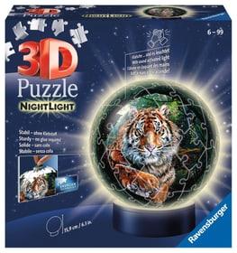 3D Illuminato grandi felini 72 p. Puzzle Ravensburger 748676500000 N. figura 1